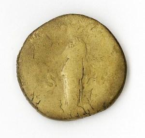 Roman Emperor Hadrian 117 -138 A.D. (coin reverse)