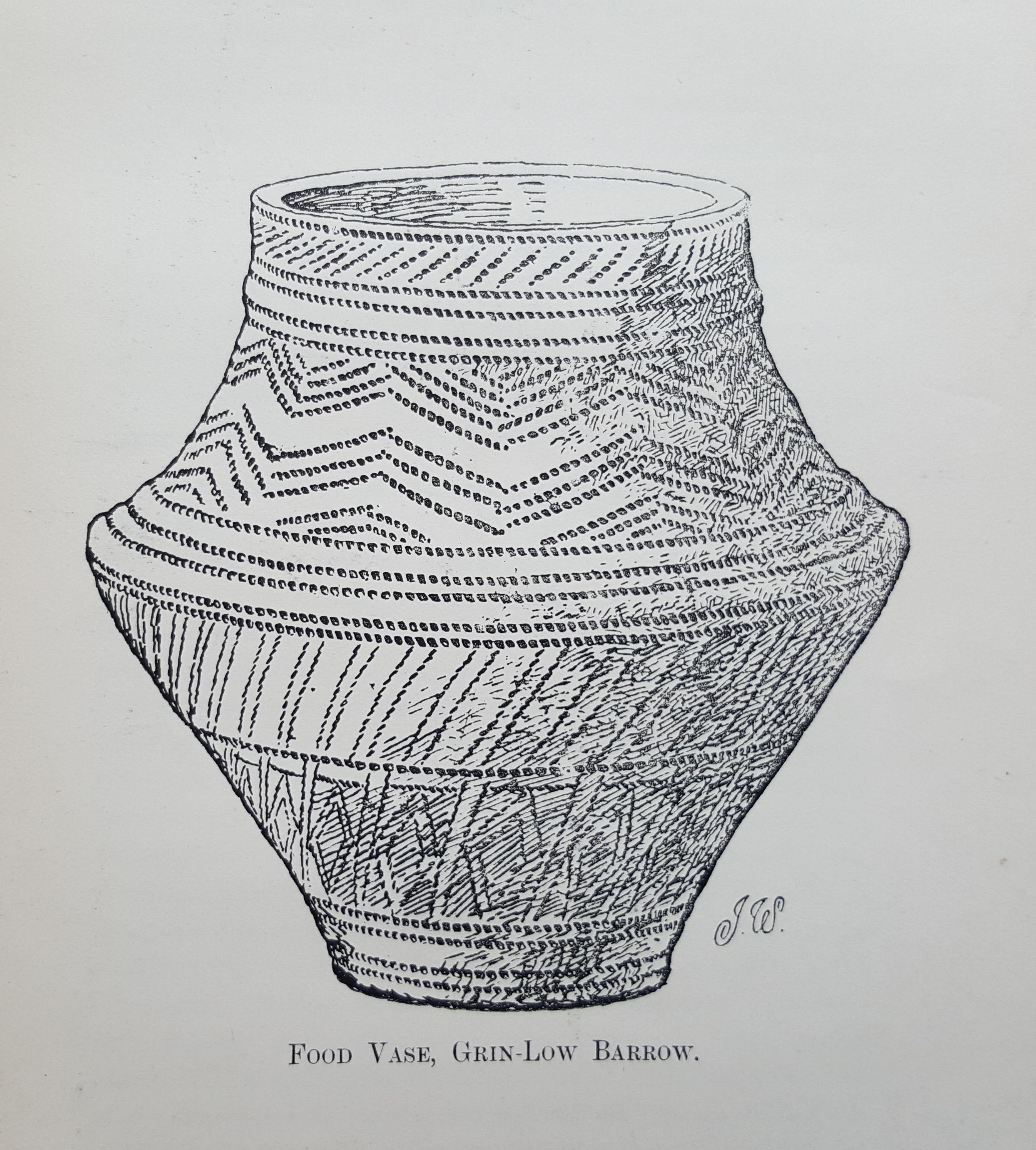 Image of food vase