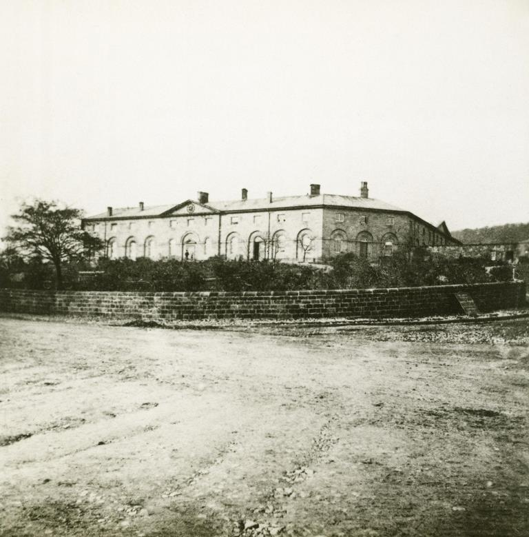 The Devonshire Royal Hospital before 1880.