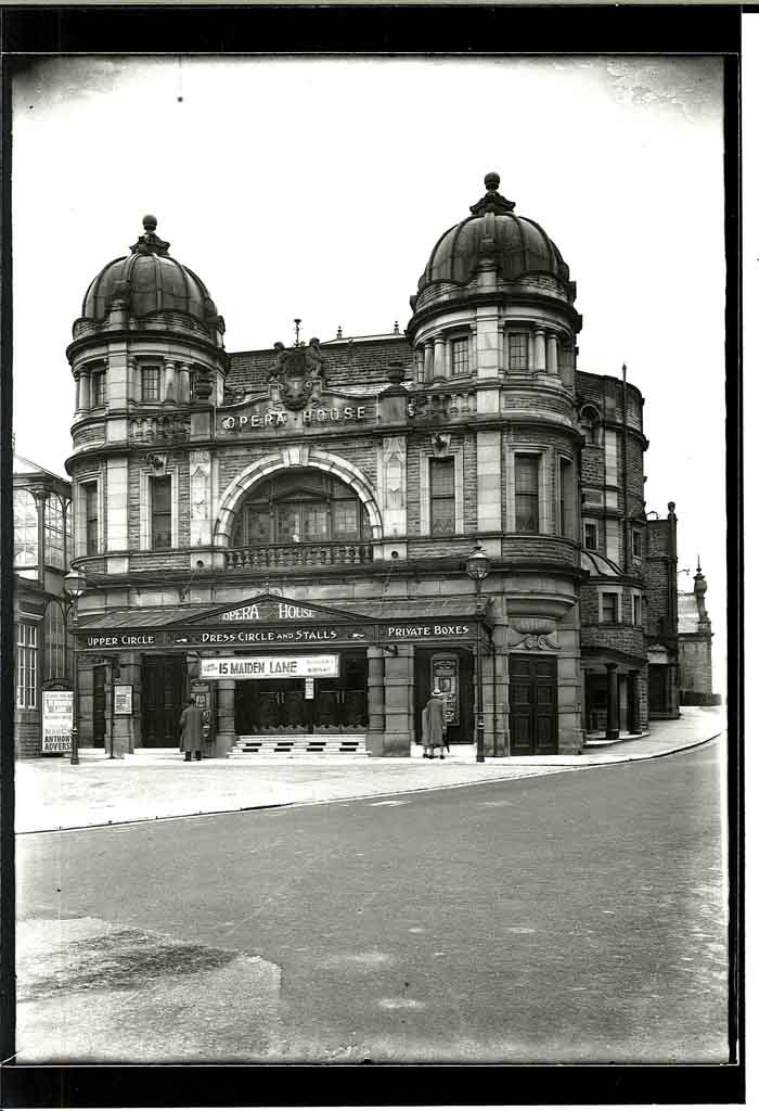 Outside Buxton Opera House, 22nd July 1937.