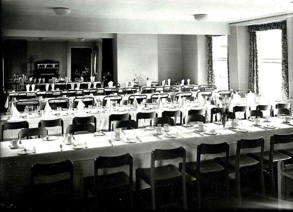 Dining room at the Spa Hotel