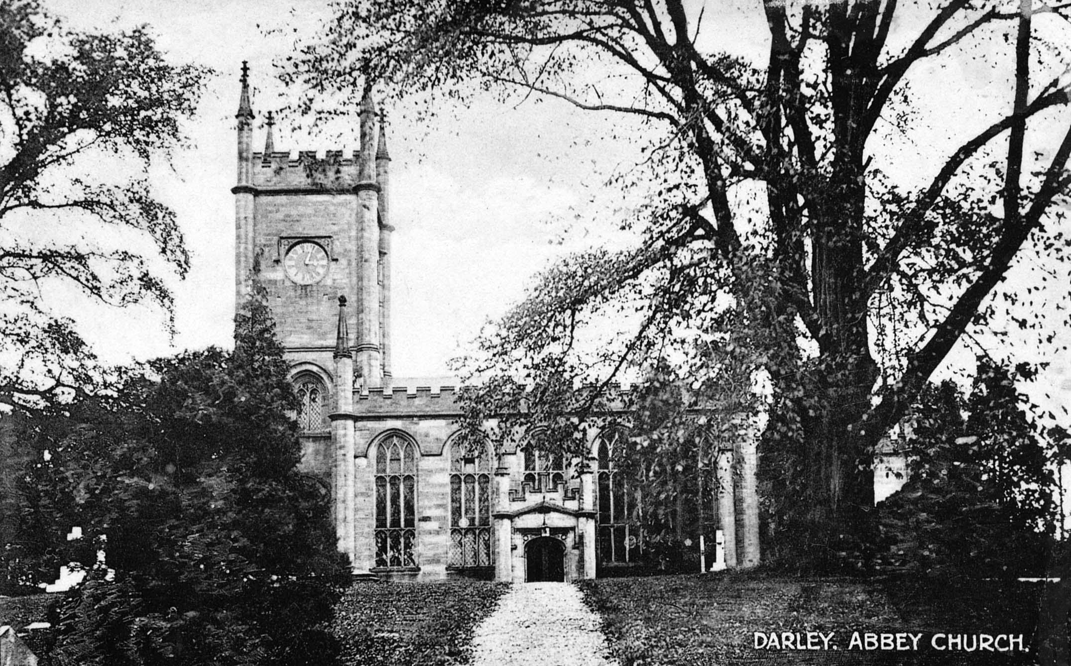 St Matthew's Church circa 1910