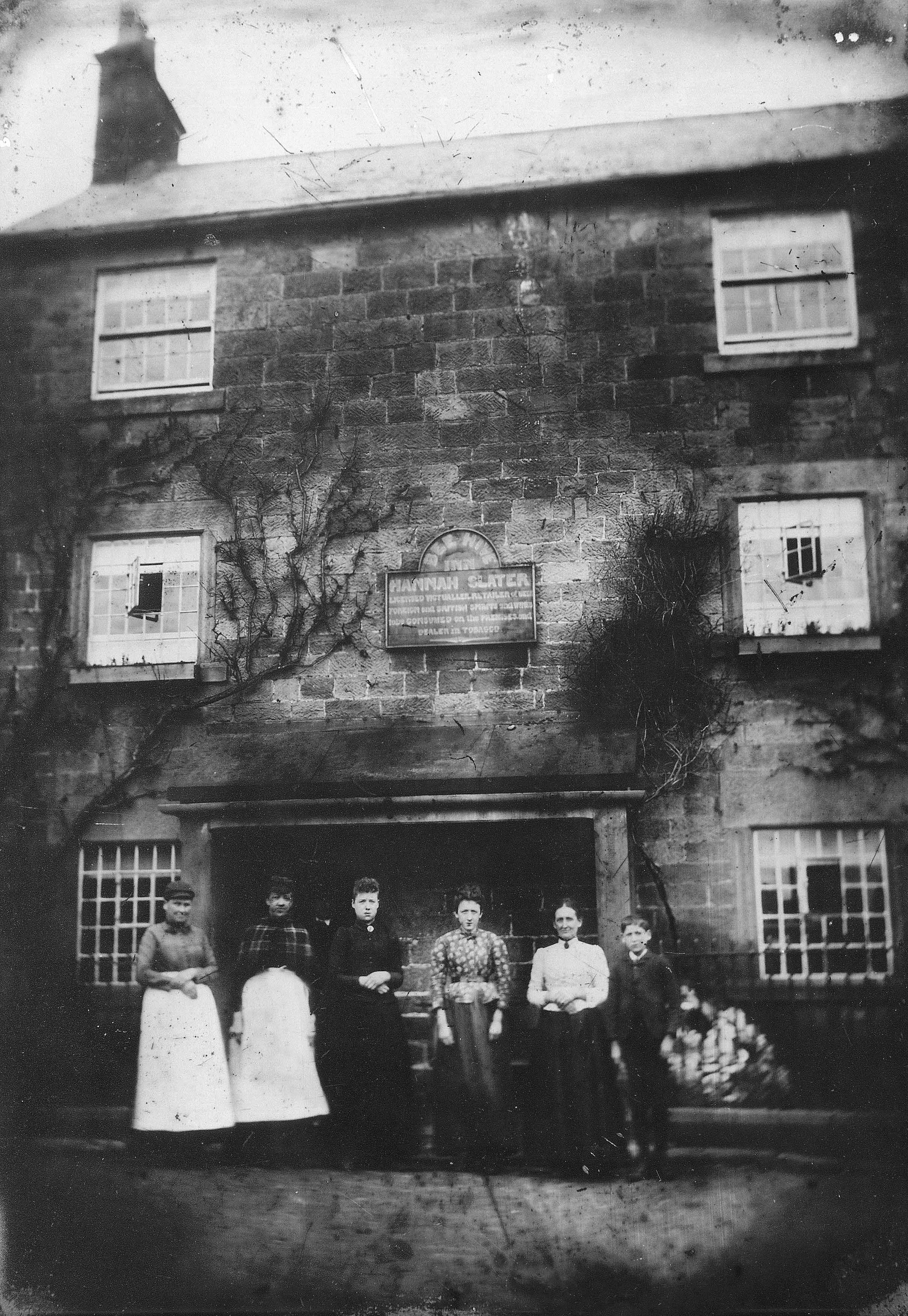 The Beehive circa 1890 - now the Social Club