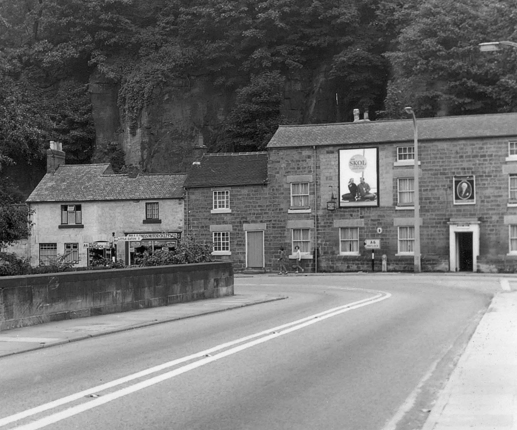 King William Pub in 1950s
